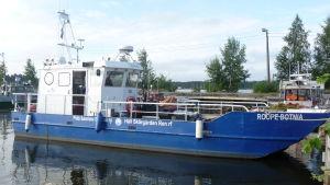 Håll Skärgården Rens båt Roope-Botnia.