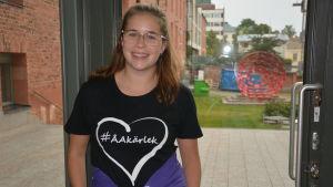 Amanda Backman, tutor för klasslärarstuderandena vid Åbo Akademi i Vasa