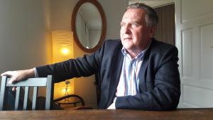 Timo Haapaniemi är ordförande för kommunstyrelsen i Kyrkslätt.