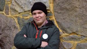 Porträttbild på Kauri Kallio.
