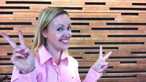 Bokbloggaren Jessica Andersin.