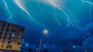 Mallorca drabbades av en häftig storm den 4 oktober 2017.