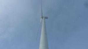 Vindkraftverk i Olhava.