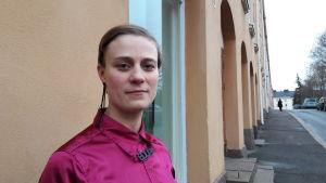 Malin Gustavsson jobbar med jämställdhetsfrågor.