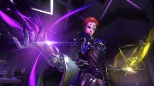 Kvinnlig karaktär från multiplayerspelet Overwatch