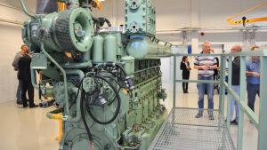 Maskinlaboratorium vid Axxell Pargas.