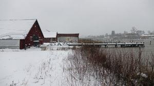 Wilenius varv i vinterskrud