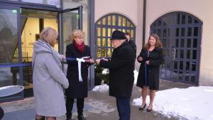 Villa Hannus invigdes på fredagen i Jakobstad