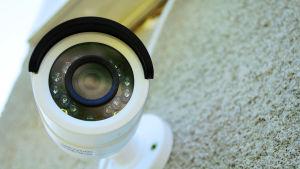 En övervakningskamera med internetuppkoppling