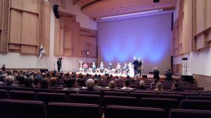 Valdebatt i Uleåborg.