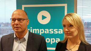 Antti Parpo och Laura Leppänen