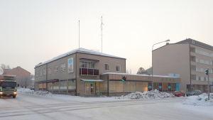 Tidigare ÖB-huset i Karleby.