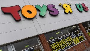 En Toys 'R' Us-butik.