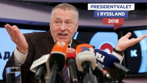 Vladimir Zjirinovskij, det ryska presidentvalets narr.