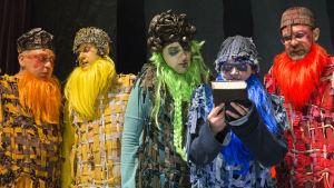 Foto från Aurinkoteatteris och Nationalteaterns samproduktion Atlantis.