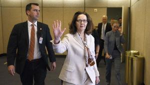 Gina Haspel ser ut att bli underrättelsetjänsten CIA:s första kvinnliga chef