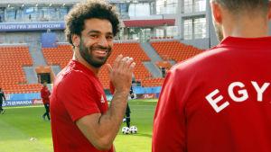 Mohamed Salah uppges vara i spelskick.