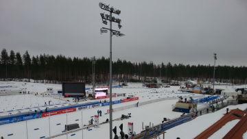 VM i skidskytte går av stapeln i Kontiolahti 2015.