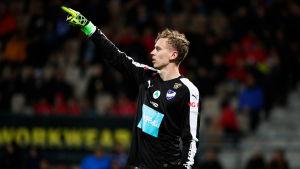 Marc Nordqvist är målvakt i IFK Mariehamn,