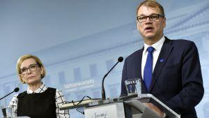 Paula Risikko och Juha Sipilä