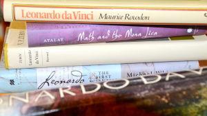 Konstböcker om Leonardo da Vinci