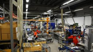 Bild på verkstaden Loval i Lovisa.