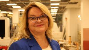Robotikexperten och författaren Cristina Andersson