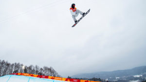 Shaun White vann OS-guld i halfpipe.