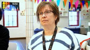 Tiina Höylä-Männistö är ungdomssekreterare i Jakobstad.