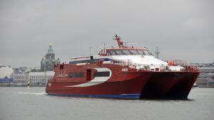 Rederiet Linda Lines fartyg