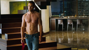 Jamie Dornan i filmen Fifty Shades Freed