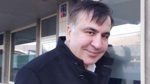 Micheil Saakasjvili i Rotterdam