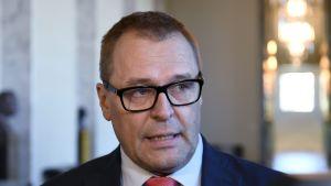 Blå framtids partisekreterare Matti Torvinen.