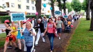 parad i Lovisa
