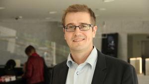 Fred Arle ansvarar för digital kreditgivning på OP-banken.