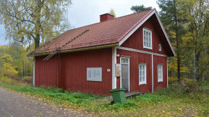 Noppa fungerade tidigare som ungdomsgård i Strömfors.