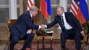 Trump och Putin