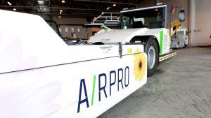 Airpros utrustning på Helsingfors-Vanda flygplats.