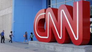 Stor CNN-logotyp.