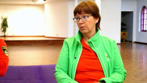 Mari-Louise Backlund är ungdomssekreterare i Pedersöre.