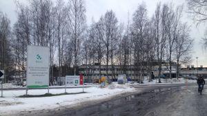 Mellersta Österbottens centralsjukhus i Karleby