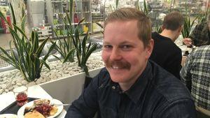 Juuso Rönneberg, styrelseordförande för Trollgärda vattenandelslag.
