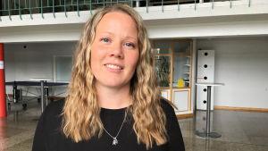 Modersmålslärare Lotta Dammert