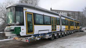 Spårvagn i Åbo.