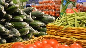 Olika grönsaker.