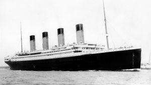 Fartyget Titanic i Southampton i arpil 1912.