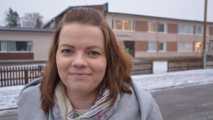 Sara Koskiniemi har två barn i Mustasaaren keskuskoulu.