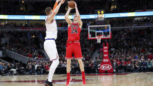 Markkanen är NBA:s bästa rookie vad 3-poängare beträffar.
