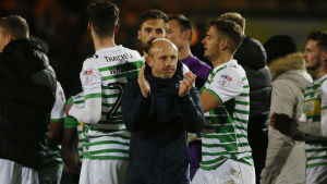 Yeovil Town möter Manchester United i FA-Cupen i fotboll.