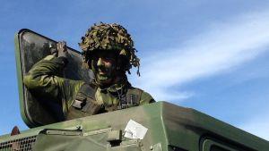 Försvarsmakten i Sverige rustar upp på Gotland.